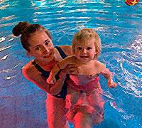 Детская ванна грудничковое плавание